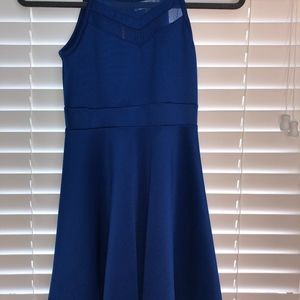 Nickie Lew Dresses - cobalt blue skate dress